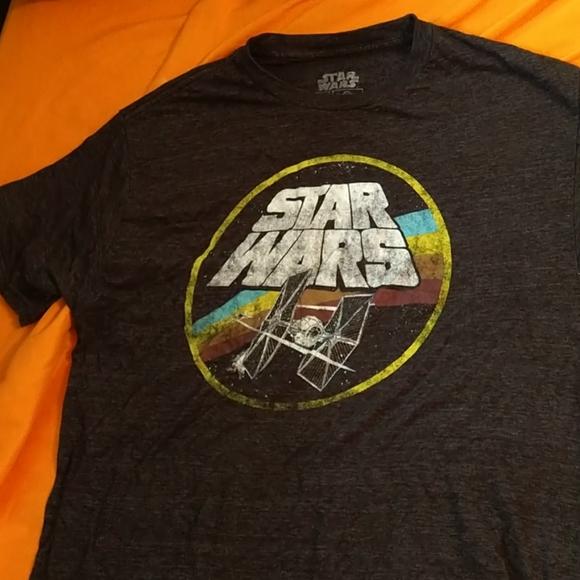 Large Star Wars Tie Fighter Tee Shirt